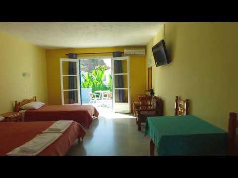 Blue Sky Hotel Petra Lesvos Greece - Drone Presentation