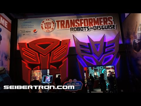 Transformers Robots In Disguise Exhibit at Children