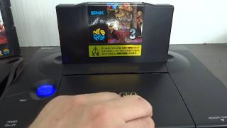 First Neo Geo AES Console With Built-In Monitor And Speakers. Neo-In-One