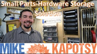 One Day Build - Shop Small Parts/Hardware/Tools Storage Solution