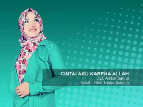 Qasidah Modern 2018 - Intan Triana Sakaria (Full Album) (Video Karaoke)
