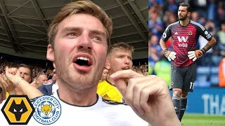 WELCOME TO THE PREMIER LEAGUE! Leicester Vs Wolves Away Day Vlog!
