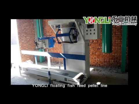 YONGLI floating fish feed production line