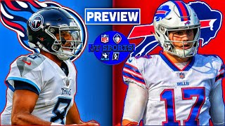 Tennessee Titans vs Buffalo Bills Preview & Prediction | NFL Week 5 Predictions