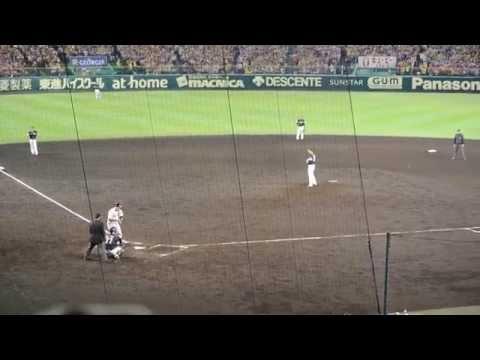 2014年10月26日日本シリーズ第二戦阪神vsソフトバンク