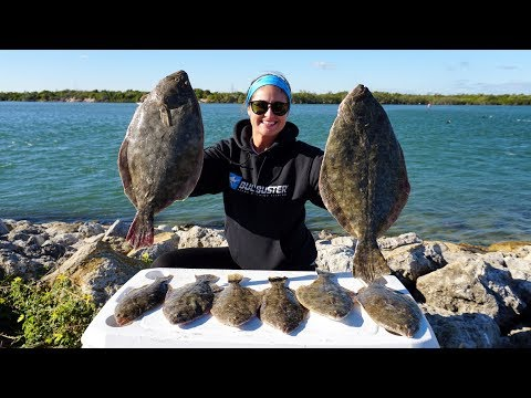 EPIC Flounder Fishing!! Lobster Stuffed Flounder- CATCH Clean COOK!