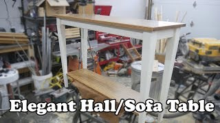 Elegant Hall/Sofa Table