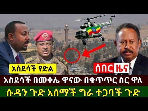 Ethiopia:ሰበር መረጃ | አስደሳች የድል ዜና በመቀሌ ዋናዎቹ በቁጥጥር ስር ዋሉ | ሱዳን ግራ ተጋባች የጉድ ዜና አሰማች እግዚኦ | Abel Birhanu