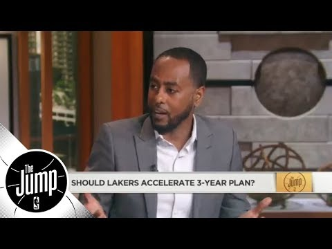 Amin Elhassan: Lakers shouldn't accelerate 3-year plan because of LeBron   The Jump   ESPN