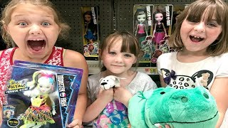 Toy Shopping at Walmart For LOL Dolls Mashems Fashems Animal Jam Baby Alive
