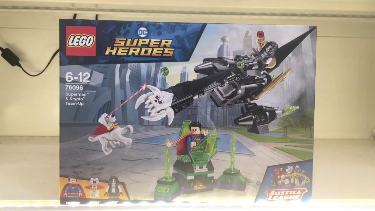 Lego 76096 Superman Krypto Team Up 76096 Dc Comics Youtube
