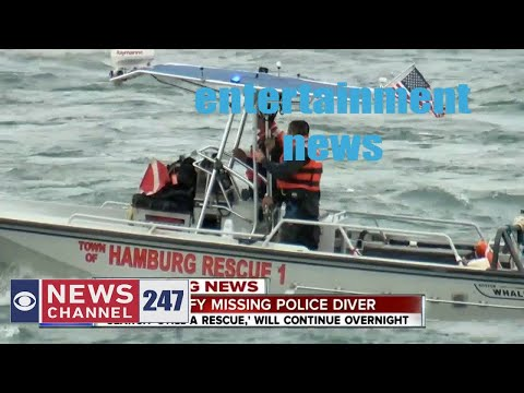 Buffalo police diver disappears during river training exercise