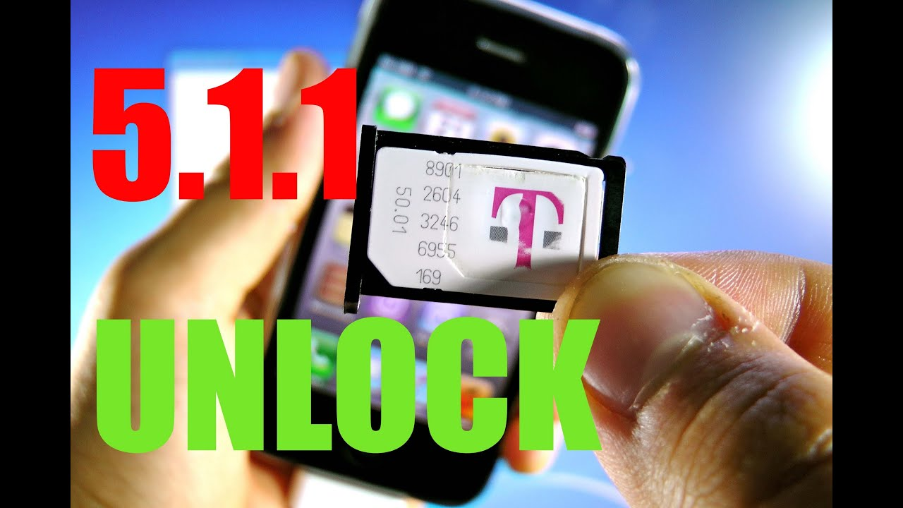 How To Unlock iPhone 3Gs 5.1.1 for Tmobile & Jailbreak Untethered - Redsn0w 0.9.14b1