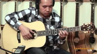 Demo ORION HD-702 - handmade guitar HD