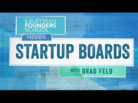 Startup Boards: Introduction