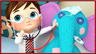 Baby Doctor Song Song | + CoComelon Nursery Rhymes | Super JoJo , BabyBus , Moonbug | Banana Cartoon