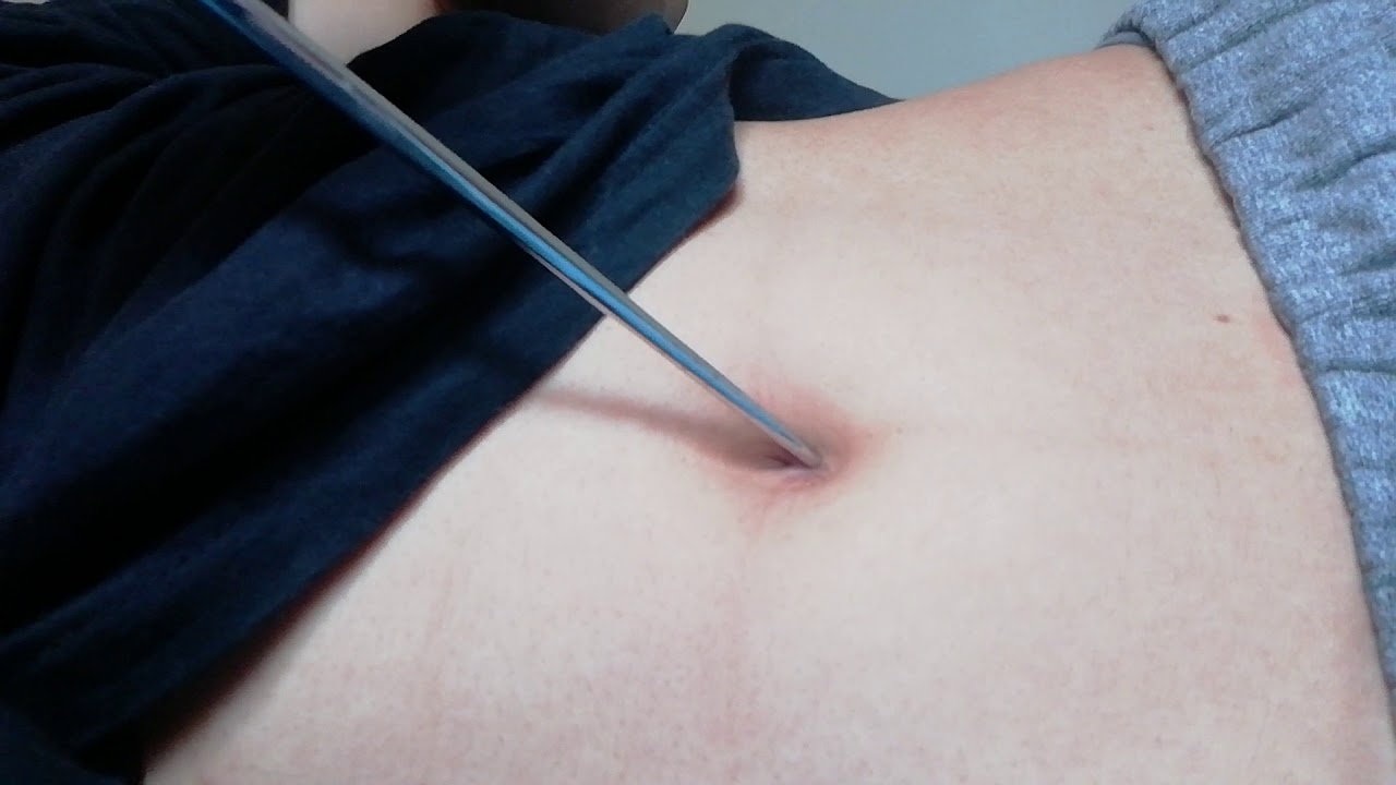 How to clean your belly button