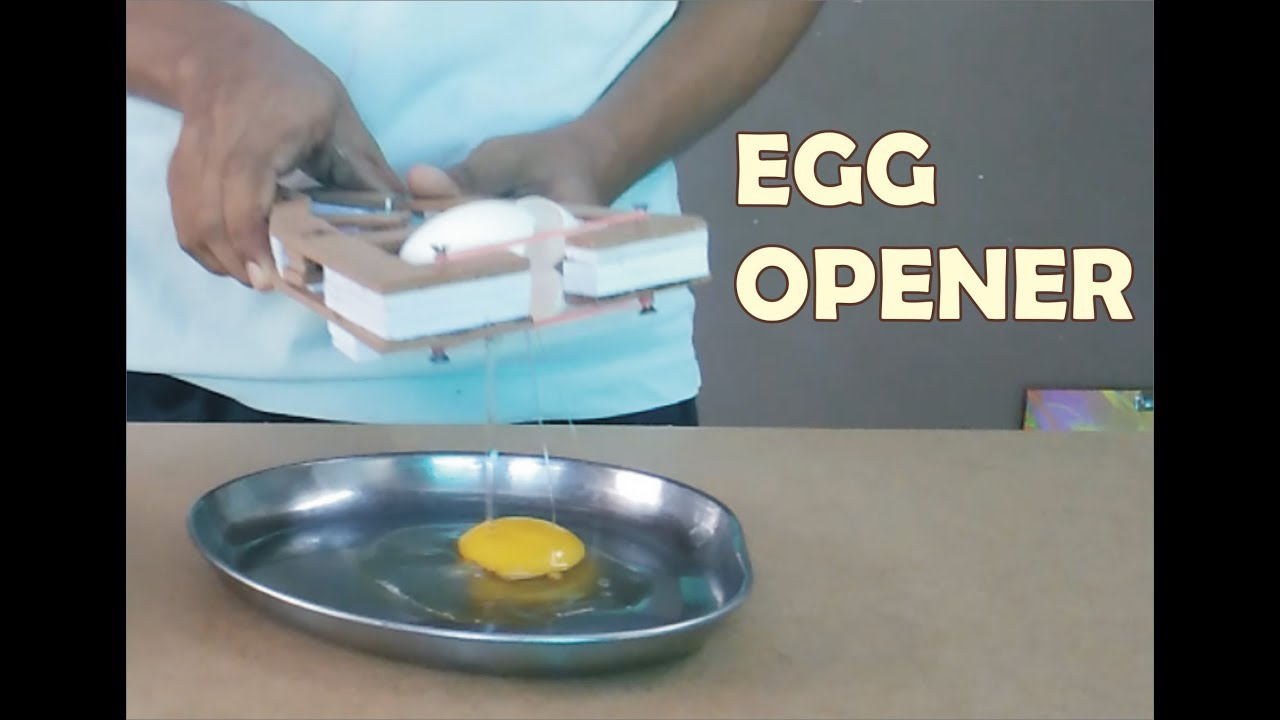 Simple Egg Opener This Gadget Should Be in Every Kitchen [ DIY ...
