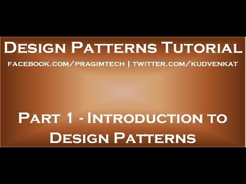 Introduction To Design Patterns YouTube Fascinating Design Patterns Tutorial