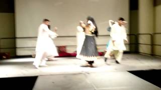 Afghan Gilrs dance and attan