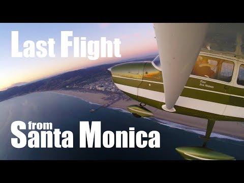 Last Flight at the Santa Monica Airport