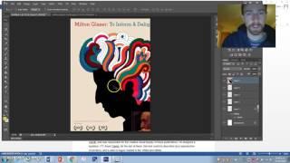 "Year 13 Design - ""Milton Glaser Poster"""