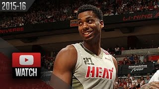 Hassan Whiteside Full Highlights vs Lakers (2015.11.10) - 19 Pts, 15 Reb, 3 Blk