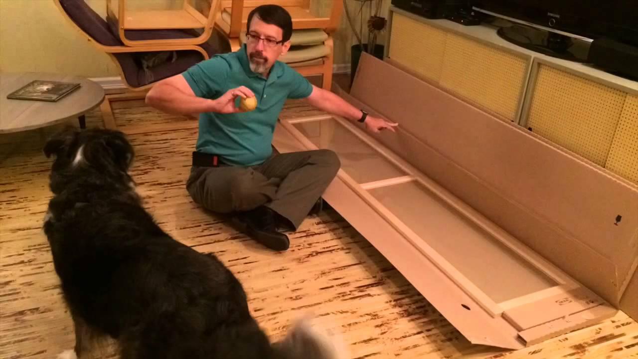 Ikea Ante Vetro Billy.Billy Bookcase Youtube