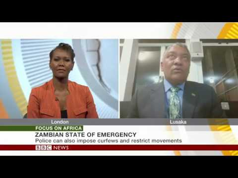 BBC Africa: Zambia's parliament approves new security measures