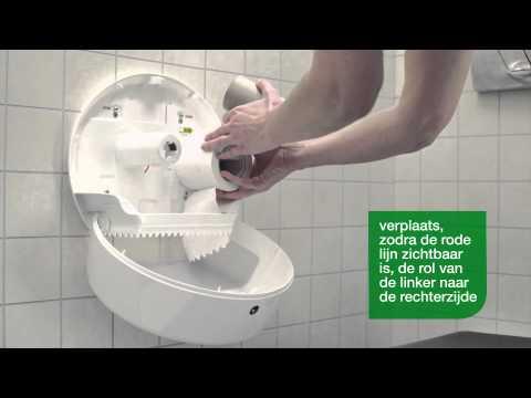 Weska Tork Vulinstructie Voor Elevation Dispensers Tork