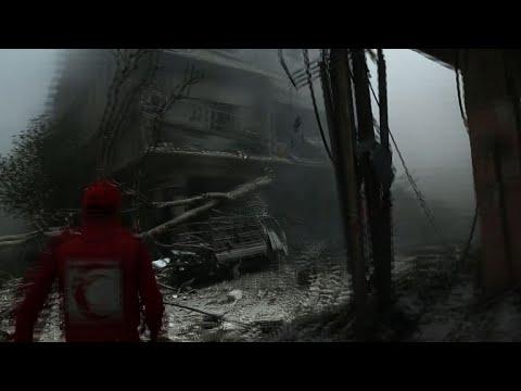 غارت لقوات النظام السوري على مناطق عدة في الغوطة الشرقية