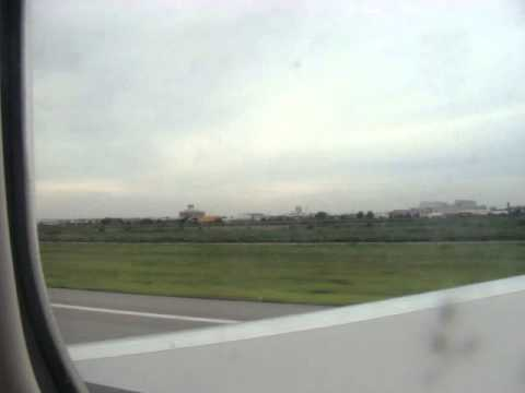 Orient Thai Airlines OX200 Take off