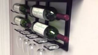 Vintageview Wine And Glass Rack Storage Unit