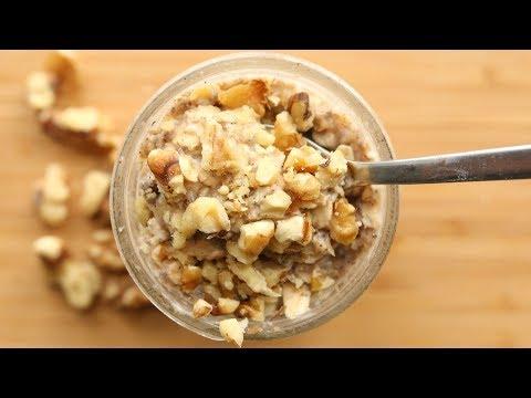 Overnight Oats Recipe BANANA Easy & Healthy Breakfast Ideas