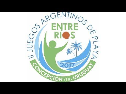 """Lanzamiento II Juegos Nacionales de Playa """"Concepción del Uruguay 2017"""""""