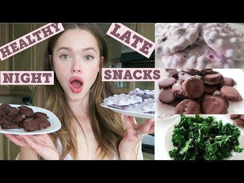 3 Healthy Late Night Snacks | Holistic Nutritionist, Model, Mommy