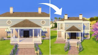 I rebuilt Judith Ward's house in The Sims 4 but... tiny