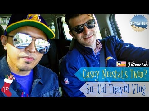 CASEY NEISTAT TWIN? | SOUTHERN CALIFORNIA TRAVEL VLOG 🕶🚗