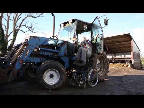 Farm accident survivor James Clarke