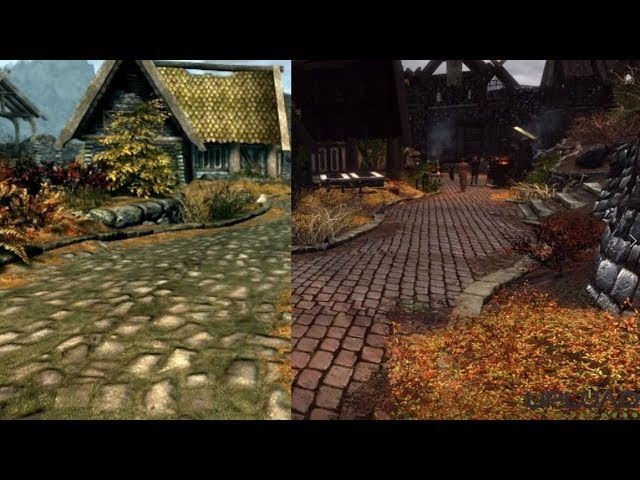 Skyrim VR: Before And After Differences Of 100+ Mods - UploadVR