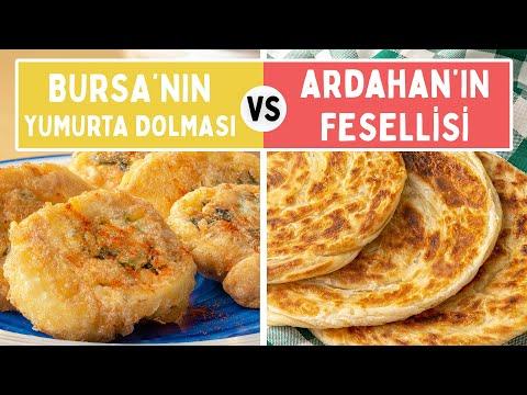 Türkiye'nin Gerçek Kahvaltılıkları Yarışıyor: Bursa'nın Yumurta Dolması Vs. Ardahan'ın Fesellisi