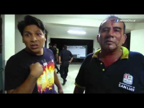 SAN LUIS: SERENO HERIDO POR DETENER PELEA ENTRE ADOLESCENTES