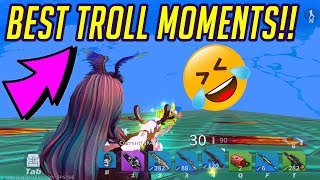 ONLY FUNNY TROLL MOMENTS PART 1! AHAH!  (Creative Destruction)