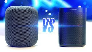 Apple HomePod vs. Sonos One