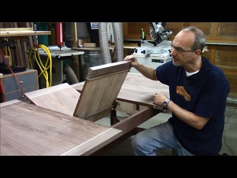 Butterfly Leaf Dining Table 9 - Designing and Installing the Butterfly Leaf