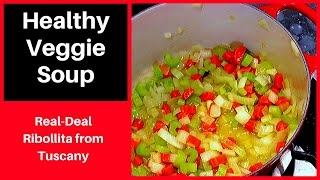 Ribollita Healthy Italian Vegetable Soup