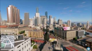 watch dogs 2   flying a helicopter with a camera view
