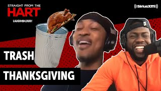 A Trash Thanksgiving | Straight from the Hart | Laugh Out Loud Network