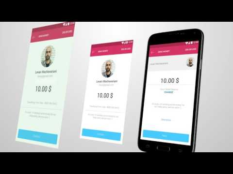 UniPAY com wallet application for Android - YouTube