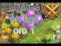 BOTINES EN LIGA ORO 1| CLASH OF CLANS | 600.000 DE CADA FARMING